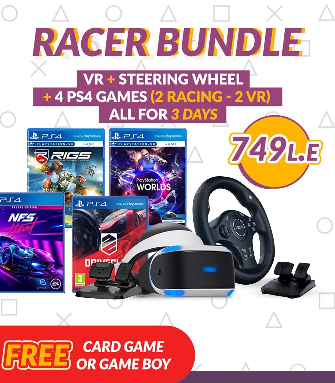 Racing Wheel & VR