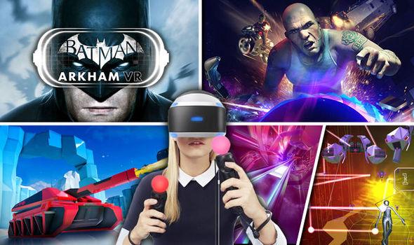 ألعاب Playstation VR