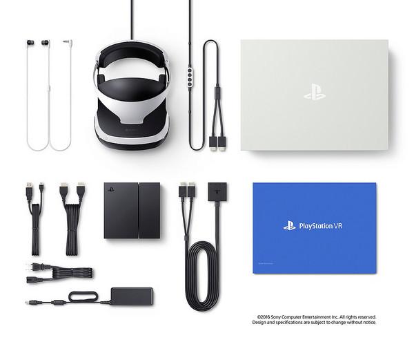 مكونات Playstation VR for PS4