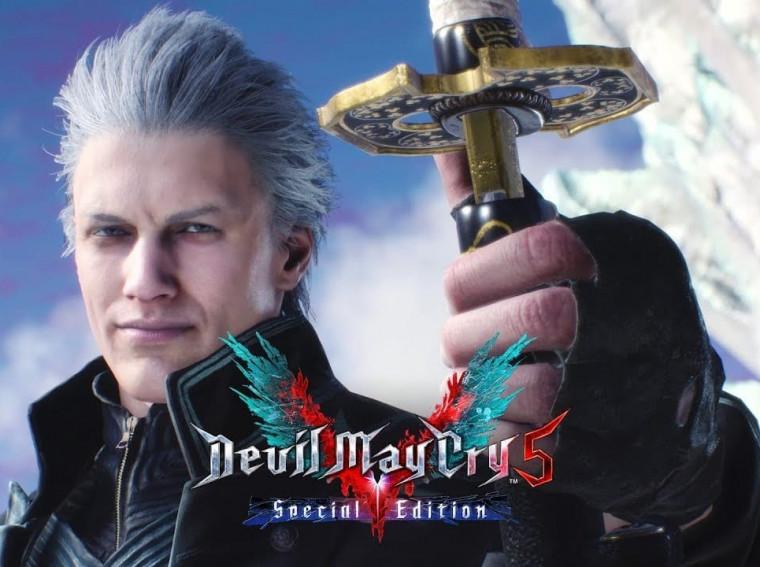 لعبة Devil May Cry 5 Special Edition PS5