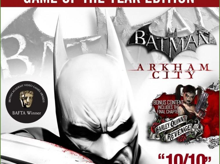 Rent Batman Arkham City Xbox 360 in Egypt